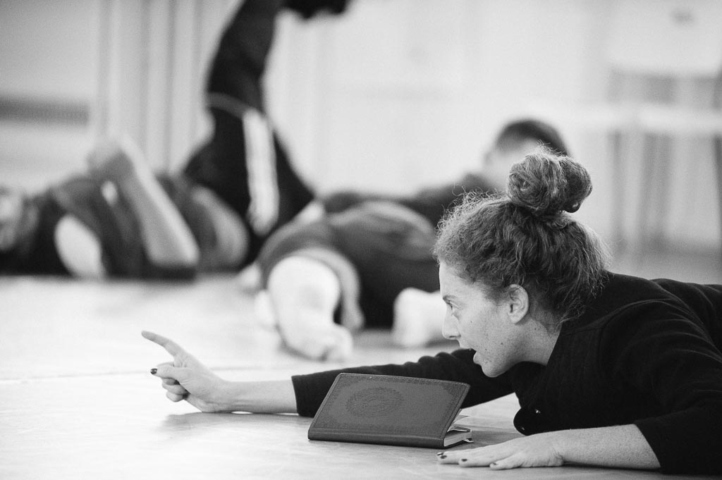 Loni Landon rehearses 'The Practice of Being Alone' at Northwest Dance Project
