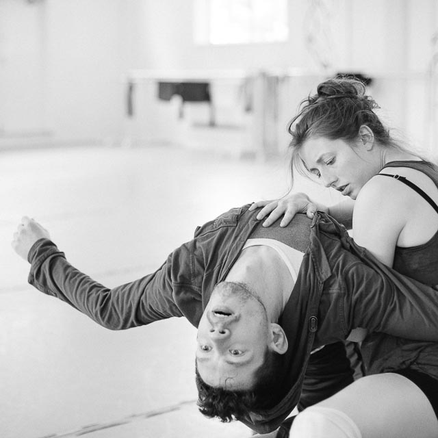 Lindsey Matheis partners Patrick Kilbane of Northwest Dance Project