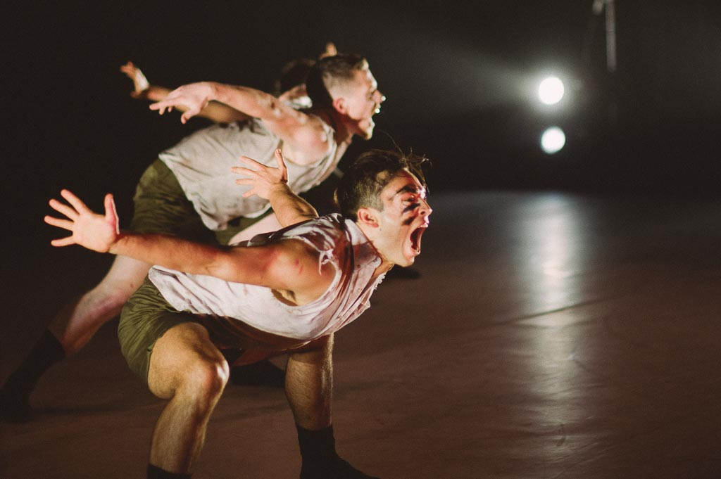 Artists of Northwest Dance Project perform James Gregg's 'Malign Star'