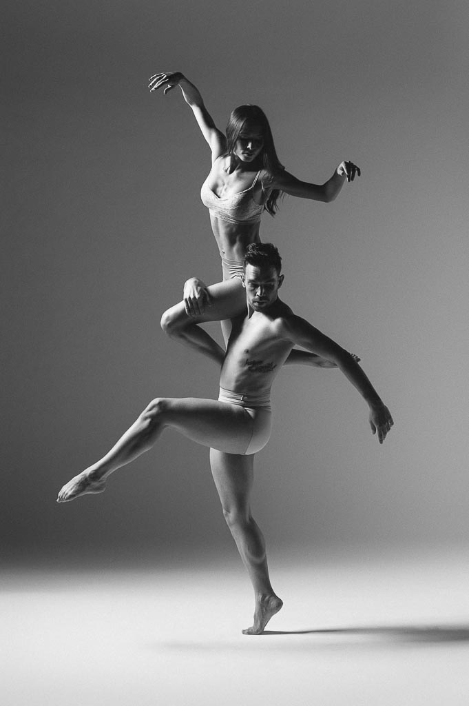 Chase Wise and Dayna Marshall of Odyssey Dance Theatre